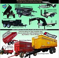 2015 CUSTOM MADE TRAILERS OVER 250 STYLES TO CHOOSE