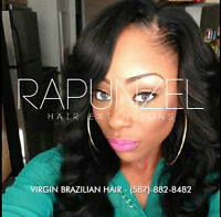 RAPUNZEL Hair Installation - Invisible Weaves and Closures