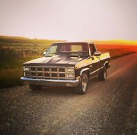 1981 GMC Sierra short box