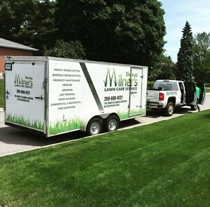 We do fall clean ups. Milners lawn care. Property maintenance.  Kawartha Lakes Peterborough Area image 3