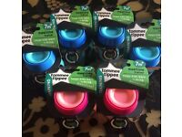 6 x brand new Tommee tippee mealtime trainer cups (non spill)