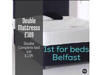 Reduced ✅Double orthopaedic mattress NEW