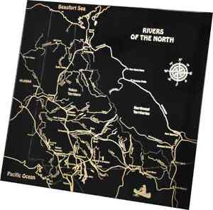 """Mirror """"Rivers of the North"""""""