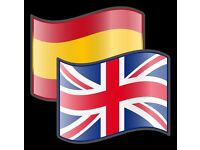 Spanish and English lessons
