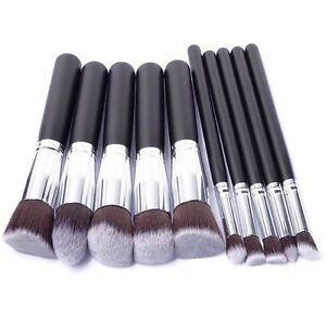 Brand New Professional Makeup Brushes. Set of 10 Kitchener / Waterloo Kitchener Area image 1