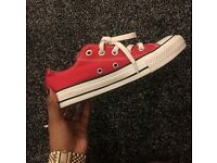 brand new size 4 red converse £20