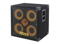 Markbass 4 x 10 Bass Cab Plus Ftted Cover