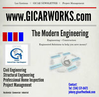Engineering - Construction - Project Management - Home Inspectio