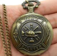 Brand New Fire Fighter Pocket Watch $10