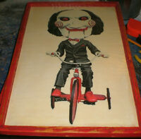"""Billy from """" SAW """"- 2 diff. """"SAW"""" movie promotional  pics"""