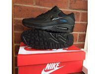 Nike air max 90 (brand new) black/blue
