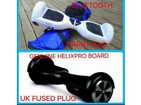 GENUINE HELIX PRO WITH WITH BLUETOOTH REFURBISHED SWEGWAY / HOVER BOARD