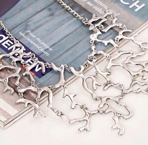 Brand new silver coral necklace. Beautiful statement necklace Kitchener / Waterloo Kitchener Area image 2