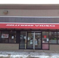 Hollywood video hiring part-time.
