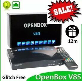 Openbox V8s with 12 month Gift