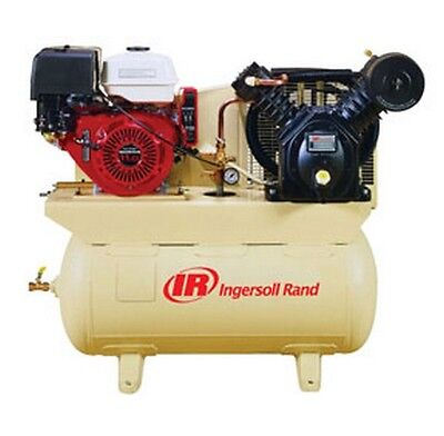 13HP 30-Gallon Horizontal Air Compressor with Honda Engine IRR-2475F13GH New!