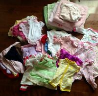 Baby girls items  over 60 items for $20