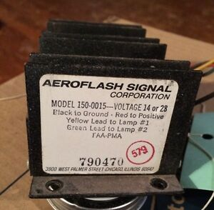 Aeroflash Tail Beacon Power Supply
