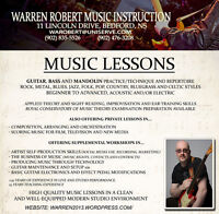 Music Lessons in Bedford (Guitar/Bass/Mandolin/Theory)