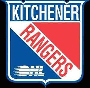 Kitchener Rangers  (REDS) - Jan 27th
