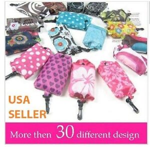10 pcs lot Foldable Shopping Tote Eco Reusable Recycle Bag wholesale supermarket