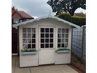 Huge 8x8ft playhouse summerhouse