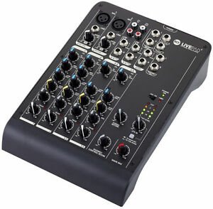RCF L-PAD 6 - 6 CHANNEL MIXING CONSOLE