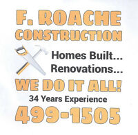 RENOVATIONS, TRIM, DECKS WE DO IT ALL. NO JOBS TO SMALL