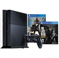 Sony Playstation 4 PS4 500GB The Last of Us Remastered / Destiny
