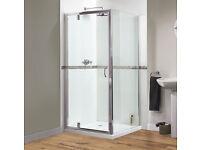 NEW STILL BOXED Shower Door 760mm wide