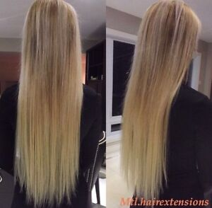POSE D'EXTENSIONS DE CHEVEUX/HAIR EXTENSIONS  West Island Greater Montréal image 3