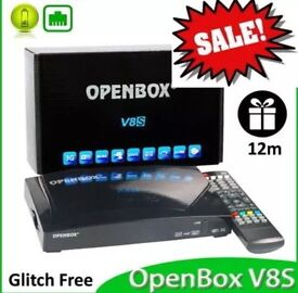 OpenBox with 12 month gift, 8GB USB stick & a pair of Wireless Ethernet Adapters
