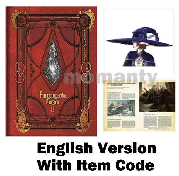 Encyclopaedia Eorzea The World of FINAL FANTASY XIV Volume II English Item Code