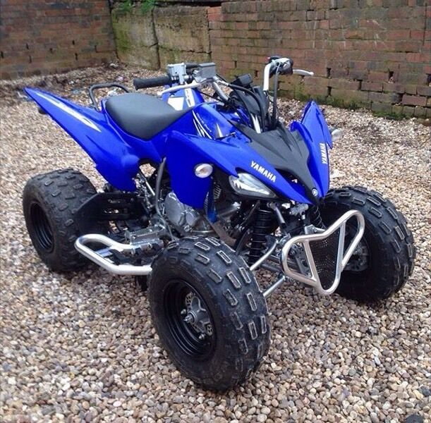 Yamaha raptor 250 road legal 2010 in edgbaston west for Yamaha raptor 50cc