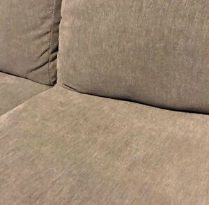 3 Seater Couch in Tan with 5 year warranty Regina Regina Area image 3