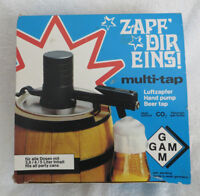 MULTI-TAP HAND PUMP BEER TAP new in package GOOD FOR ALL PARTIES