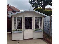 Summerhouse summer house playhouse play house outdoor