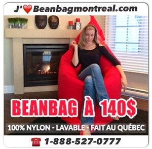 Beanbag style#777, 140.$, neuf par Beanbag Montréal