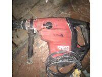 Hilti te 80 atc hammer drill