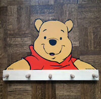 Winnie-The-Pooh Wall Rack & Musical Pull Toy
