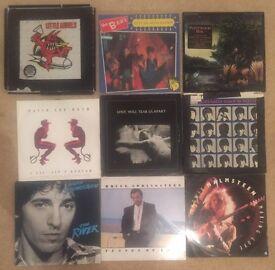 """70 -ROCK , METAL, POP LPS/12"""" RECORDS"""