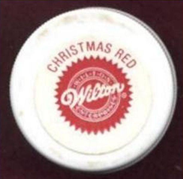 NEW Wilton CHRISTMAS RED ICING COLOR
