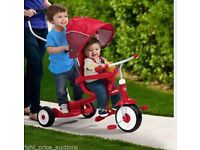 Ride, stand , siblings twins bike/ trike