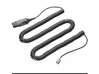 Plantronics his Adapter Cable 172442-41.