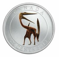 2013 glow in the dark dinosaur coin Quetzalcoatlus