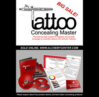 Airbrush Tattoo Concealing Master Course on Sale!