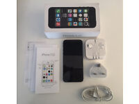 iPhone 5S Unlocked Mint Condition New Accessories