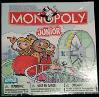 MONOPOLY JR. GAME - GREAT CONDITION! $4 – ROCK BOTTOM PRICE!!