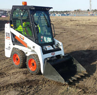 Bobcat Service for Hire $58/Hr - Landscaping in small areas