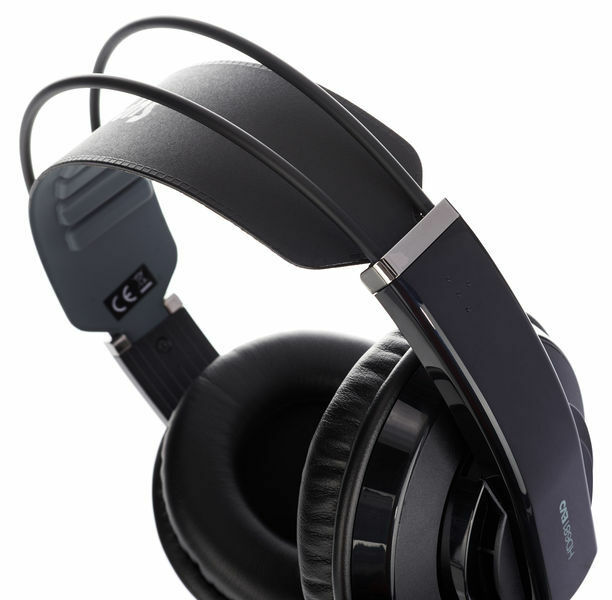 Superlux Studio Headphones HD681EVO -  DJ Recording Monitoring - BLACK